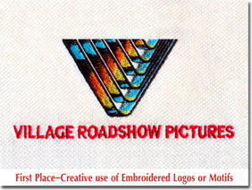 First Place-Creative use of Embroidered Logos or Motifs