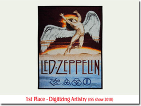 1st Place - Digitizing Artistry (ISS show 2010)