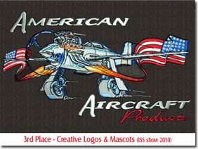 3rd Place - Creative Logos & Mascots (ISS show 2010)