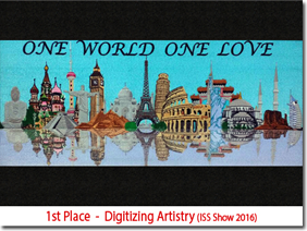 1st Place - Digitizing Artistry (ISS show 2016)