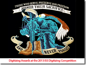 Digitizing Awards at the 2013 Digitizing Competition