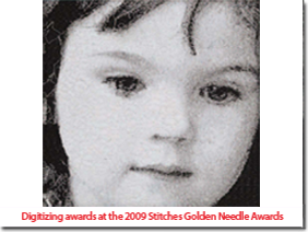 Digitizing Awards at the 2009 Stitches Golden Needle Award