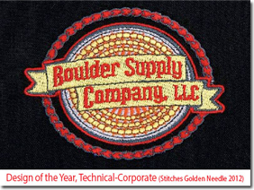 Design of the Year, Technical-Corporate (Stitches Golden Needle 2012)